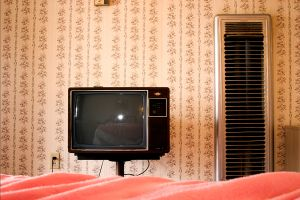 Motel Room - Tucumcari, NM ©2005 Mary Schilpp.  All rights reserved. www.maryschilpp.com www.thegirlspictures.com (954) 389-7447